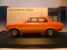 EXTREMLEY RARE VANGUARDS 1/43 1974 FORD ESCORT MK1 RS2000 RIGHT HAND DRIVE NLA