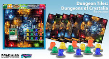 Super Dungeon Explore - Dungeon Tiles - Dungeons of Crystalia