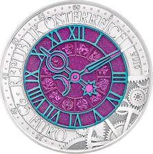 Ek // 25 euro Silver/Niobium Coin AUSTRIA 2016 Time