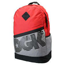 DGK Men's Downtown Angle Deluxe Backpack Bag Red back to school skate