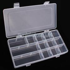 ADJUSTABLE FLOAT RIG LURE FISHING TACKLE HOLDER BOX TRAY CRAFT JEWELRY CASE