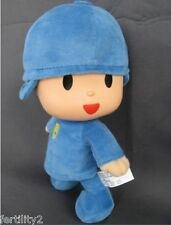 "12"" 30cm PATO Pocoyo ELLY PATO Soft Plush Stuffed Figure Kids Gift Toy Doll Blue"