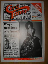 CARD TIMES MAGAZINE FORMERLY CIGARETTE CARD MONTHLY No 34 MAY 1992
