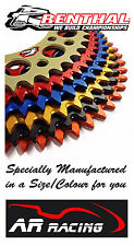 Renthal Special Coloured Rear Sprocket 29-46 Teeth Ducati Monster 696 2008-2015
