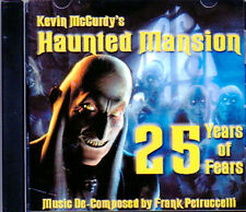 Kevin McCurdy's HAUNTED MANSION: 25 YEARS OF FEARS - HALLOWEEN MUSIC & SOUNDS CD