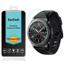 2X ZenTech® Tempered Glass Screen Protector Guard For Samsung Gear S3 Frontier