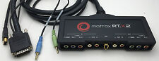 Matrox RT.X2 Breakout Box for Realtime HD Video Editing