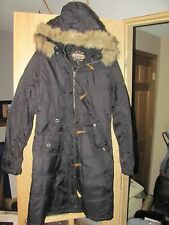 NEW Women's Medium GUIDE GEAR Black Winter Parka with 2-Pc Hood-HUGE DISCOUNT!!