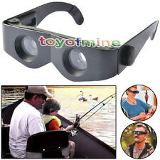 Portable Glasses Style Binoculars Magnifier Telescope For Fishing Hiking Concert