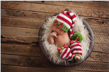 Newborn Baby Girls Boys Crochet Knit Costume Photo Photography Prop Outfits #41