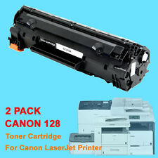 2PK Canon128 128 Toner Cartridge For Canon L100 L190 D530 D550 MF4412 MF4450