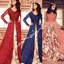 Pakistan Indian Ethnic designer Bridal Traditional Anarkali Lengha Salwar Kameez
