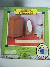 MADELINE'S OLD HOUSE IN PARIS DOLL FURNITURE BEDROOM SET EDEN 2000 NIB MADELINE