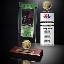 Pittsburgh Steelers Super Bowl XV Ticket and Game Coin Acrylic Display - NFL