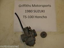 80 Suzuki TS100 TS 100 Honcho MIKUNI CARB CARBURETOR 81? 79? 78?