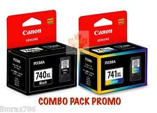 GENUINE CANON PIXMA PG 740XL & CL 741 XL INK CARTRIDGE FOR MG2170/MG3170/MG4170
