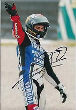 Jorge Lorenzo SIGNED MotoGP World Champion Rockstar YAMAHA 12x8 Photo AFTAL