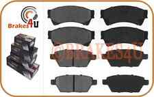 D1161 D1164 FRONT & REAR Brake Pads fits Mazda 6 Ford Fusion Lincoln