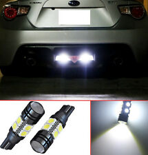 Projector LED Reverse Light Bulbs T15 912 921 906 for Honda Civic Coupe (2 pcs)