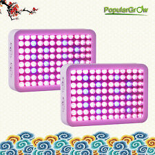 2PC reflector series 300W LED Grow Light panel Full Spectrum indoor veg blooming