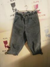 lego Gotha DDR XXS Trachten Lederhose kurz True Vintage leather trousers 3/4