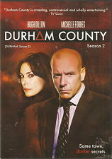 DURHAM COUNTY - Complete 2nd Season. Hugh Dillon, Michelle Forbes (2xDVD SET'10)