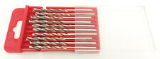 """10 Pc Diamond Coated H.S.S Drill Bits Glass Stone Shank: 1/8"""" Grit 120 Gift Idea"""