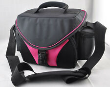 pink case for Canon EOS 600D 5D 60D 550D 50D 450D 650D 6D CAMERA Camcorder BAG