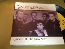 "DEACON BLUE - SPANISH ONE SIDED 7"" SINGLE SPAIN QUEEN OF THE NEW YEAR"