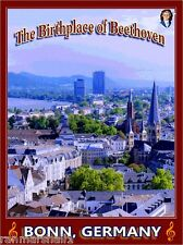 Ludwig van Beethoven Birthplace Bonn Germany Europe Travel Advertisement Poster