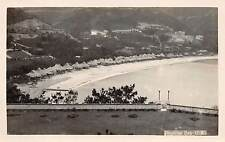 HONG KONG, CHINA ~ REPULSE BAY OVERVIEW, REAL PHOTO PC ~ c. 1920-1930s