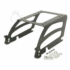 Detachables Solo Tour-Pak Luggage Mounting Rack For Harley Softail Fat Boy 00-06