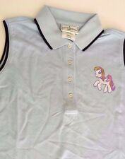 LADIES MY LITTLE PONY HEAT TRANSFER OUTER BANKS GOLF SHIRT SMALL NEW