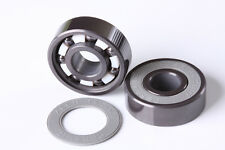 Full Ceramic 608 Skate Bearing 8 x 22 x 7 mm Metric full Si3N4 Silicon Nitride