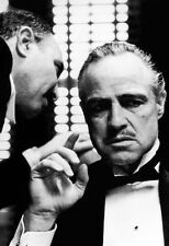 The Godfather Poster, Don Vito Corleone, Italian Mafia, Classic Gangster Movie