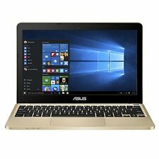 ASUS E200HA Portable Lightweight 11.6-inch Intel Quad-Core Laptop Gold HVI
