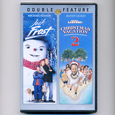 Jack Frost & Christmas Vacation 2 PG movies, new DVDs Michael Keaton Randy Quaid