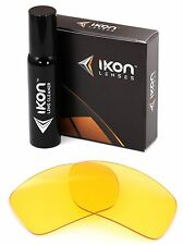 Polarized IKON Replacement Lenses For Oakley Big Taco - HD Yellow