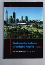 Developments in Mechanics of Structures & Materials, Deeks & Hao - 2 Volumes HB