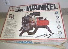 VINTAGE 1972 RENWAL 1/3 SCALE THE VISIBLE WANKEL ROTARY ENGINE MODEL KIT CAR