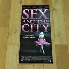 SEX AND THE CITY locandina poster affiche Sarah Jessica Parker Kim Cattrall