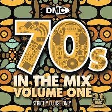 DMC 70s In The Mix DJ Music CD Megamix Continuous Disc Seventies