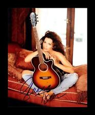 SHANIA TWAIN AUTOGRAPHED SIGNED & FRAMED PP POSTER PHOTO