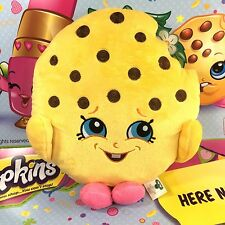 "Shopkins Authentic Kookie Cookie 10"" Large Soft Plush Gift Toy"
