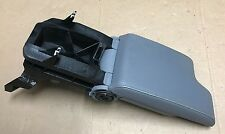99-06 BMW E46 325i 330i CI XI GREY/GRAY CENTER CONSOLE ARM REST LEATHER
