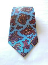 St SAINT ANDREWS HAND MADE man tie cravatta uomo 100% silk 7 folds sette pieghe