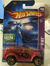 Hot Wheels Power Panel WWE Batista Instant Win Card