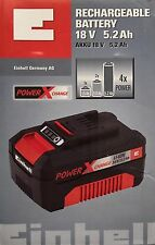 EINHELL POWER-X-Change 18 volt sistema batteria agli ioni di litio (Li-ion) 5.2 AH