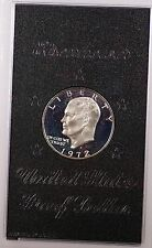 1972 S Proof 40% Silver Eisenhower IKE Dollar Coin with Original US Mint Box
