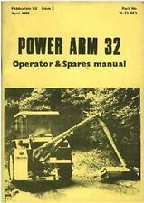 Mcconnel hedgetrimmer puissance bras 32 pa32 opérateurs manuel avec liste de pièces